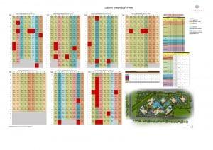 Leedon Green Elevation Chart 23rd Jan 2020
