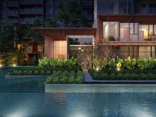Leedon_Green_-_Garden_Villa_Night_View