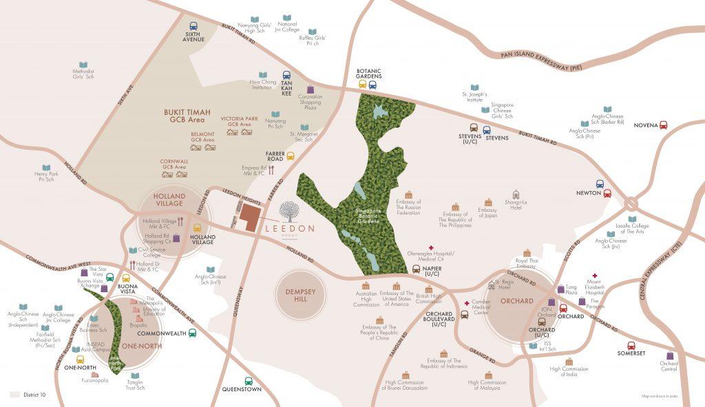 Leedon_Green_Location_Map